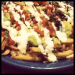 getting my carne asada fries fix @ muchos's taqueria, sj