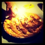 homemade apple bday pie