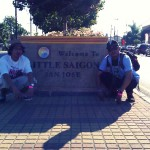had to take a picture in front of this sign in SJ! south east beasts!