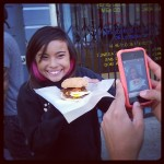 Jasi helped Burgogi sell a handful of burgers that day