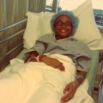 Jasi before knee surgery