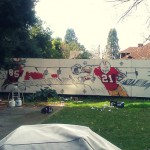 Started the piece in Berkeley