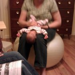 sofie getting diagnosed by a lactation consultant
