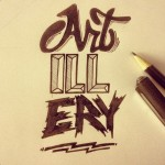artillery_hand_drawn_lettering